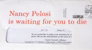 Nancy Pelosi is waiting for you to die.