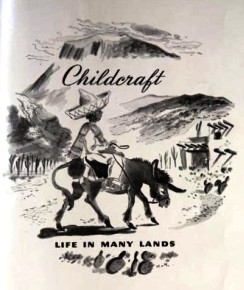 Title page for Life in Many Lands, Childcraft, volume five