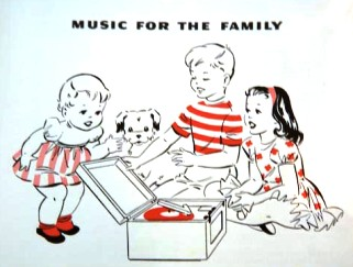 """Music for the Family"" illustration"